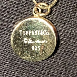Super Rare Tiffany Elsa Peretti silver Necklace!